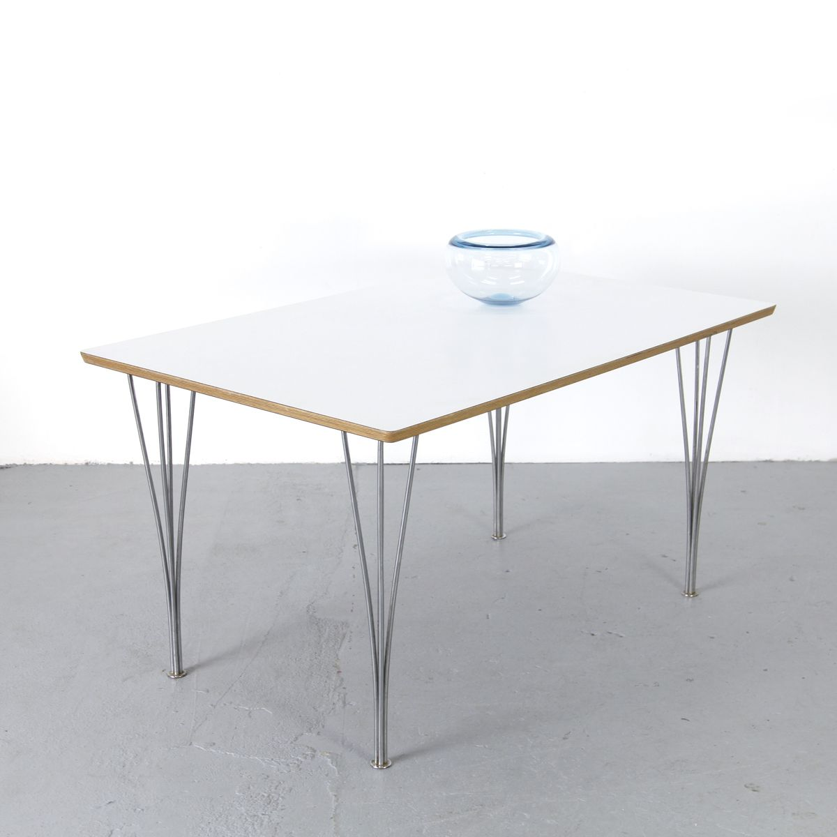 Formica table by piet hein bruno mathsson for fritz for Formica table