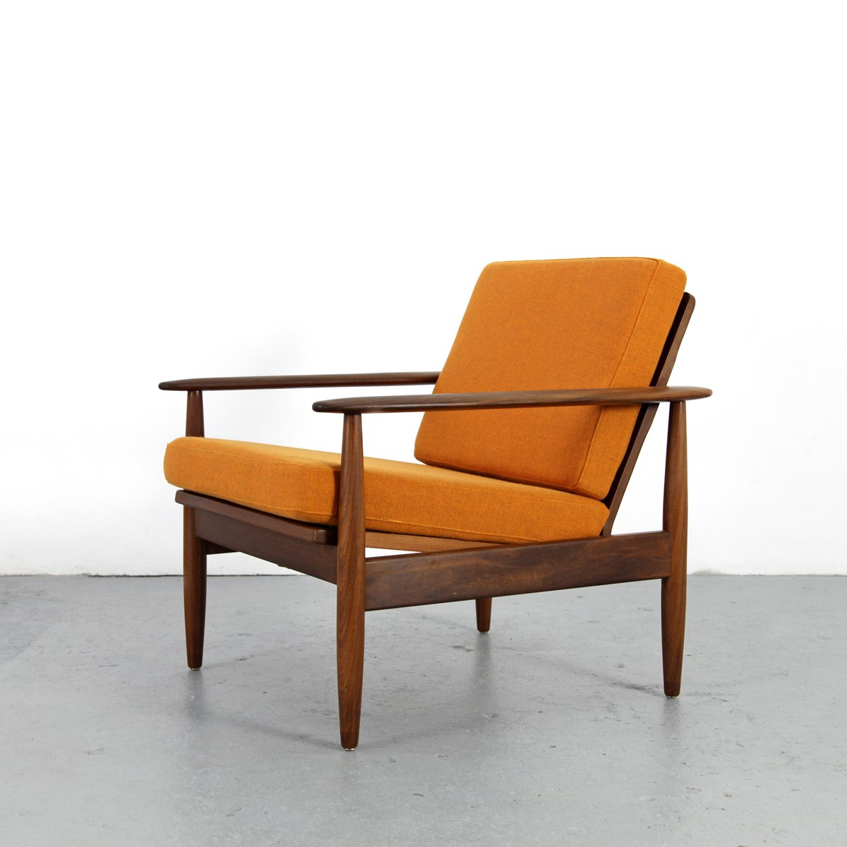 Mid Century Teak Armchair For Sale At Pamono
