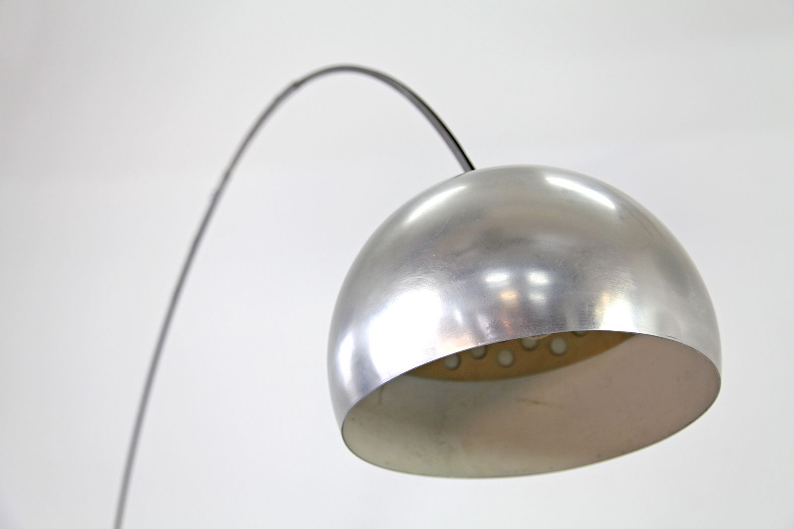 floor lamp by achille castiglioni for flos 1960s for sale at pamono. Black Bedroom Furniture Sets. Home Design Ideas