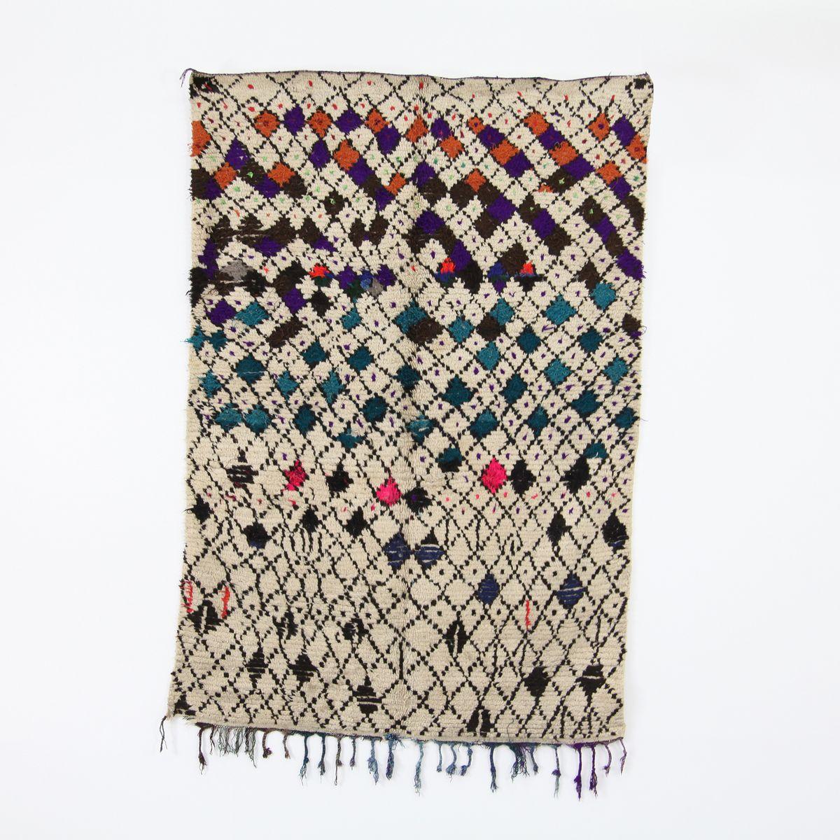 Vintage Wool Rug 44