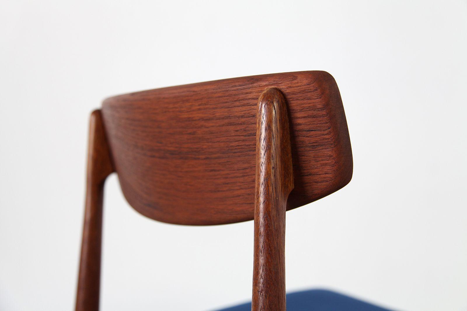 mid century teak st hle von casala 1960er 4er set bei. Black Bedroom Furniture Sets. Home Design Ideas