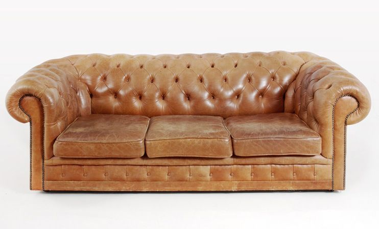 vintage chesterfield sofa 1970er bei pamono kaufen. Black Bedroom Furniture Sets. Home Design Ideas