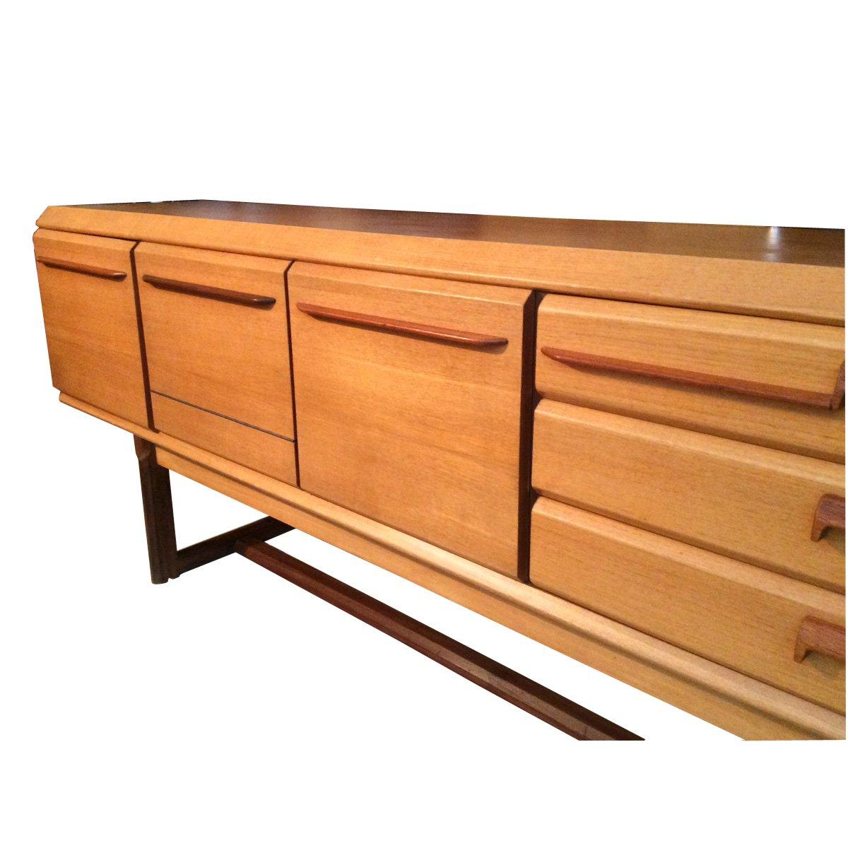 Langes sideboard aus dänemark, 1970 bei pamono kaufen