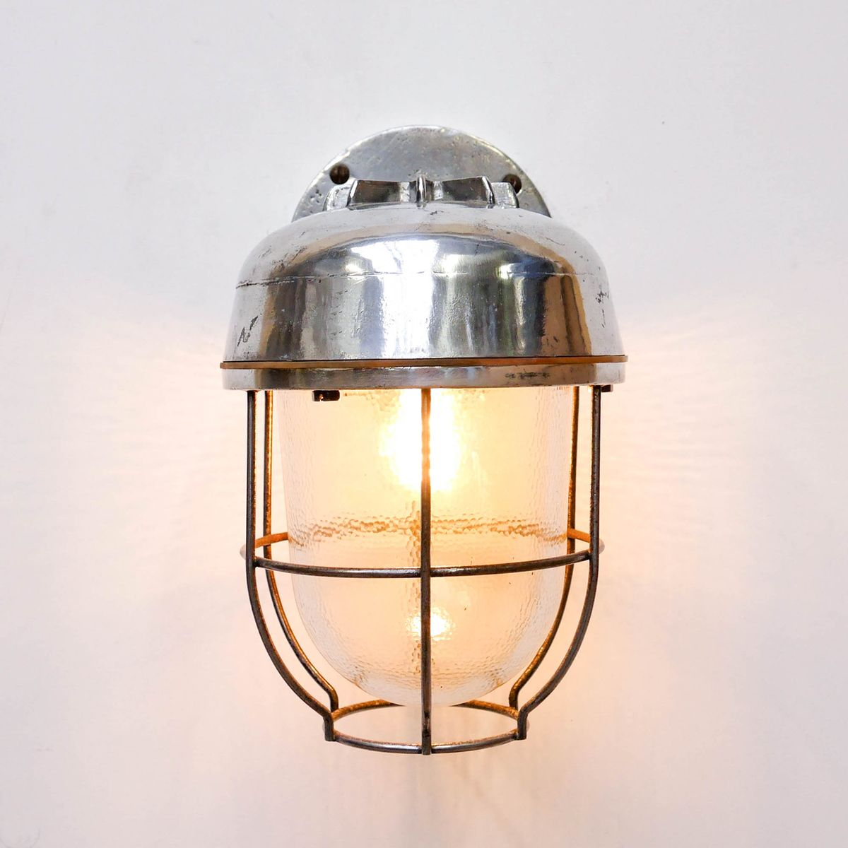 vintage laternen wandlampe bei pamono kaufen. Black Bedroom Furniture Sets. Home Design Ideas