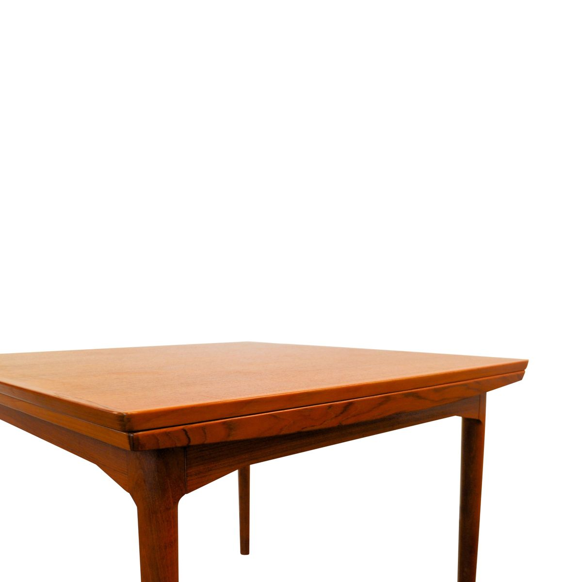 100 danish modern teak extendable dining table danish dinin