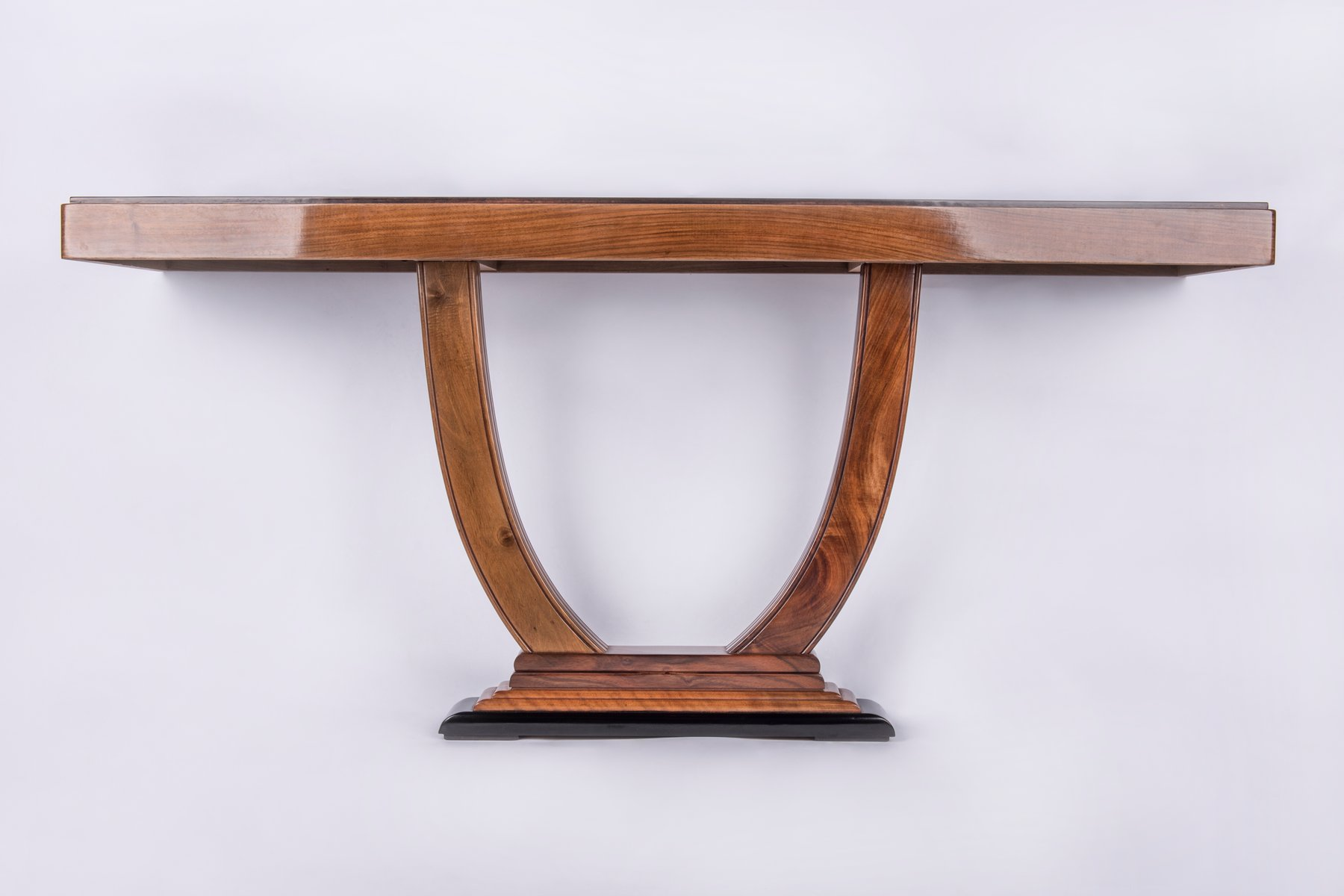 Art deco console table table designs art deco console table 1930s for at pamono geotapseo Image collections
