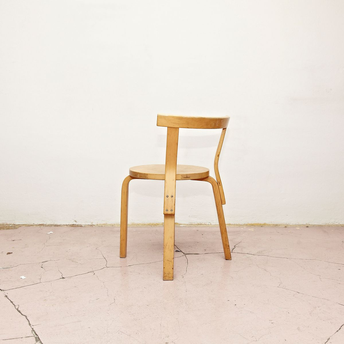 Bentwood chair by alvar aalto for artek 1960s for sale at pamono