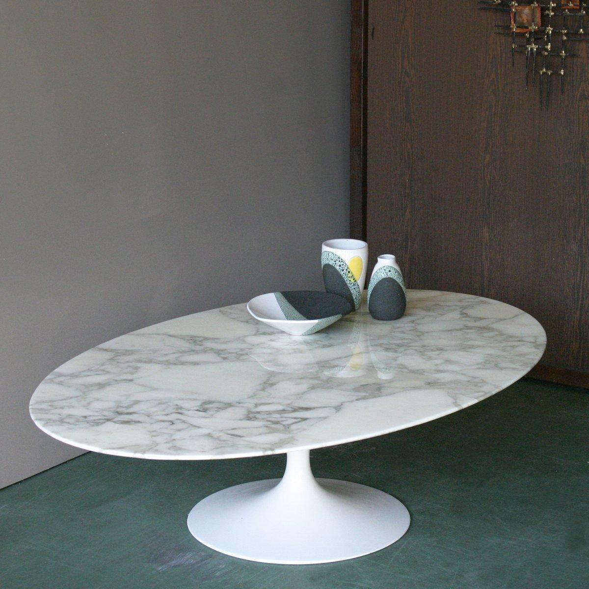 167 MC Ovaler Couchtisch von Eero Saarinen für Knoll bei