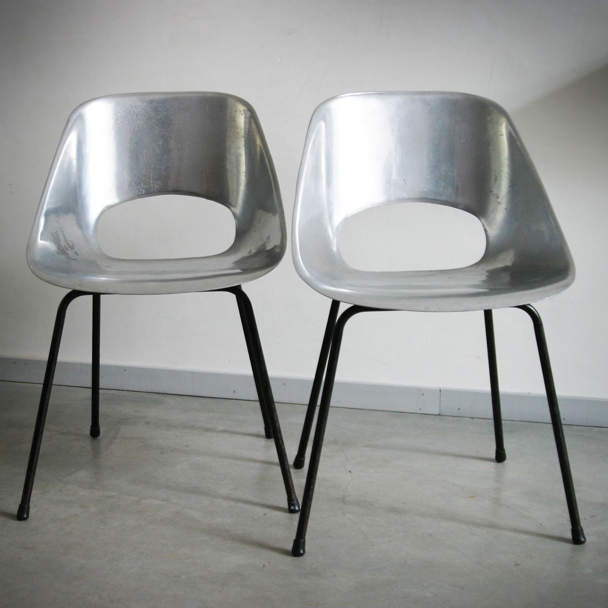 Tulip chairs by pierre guariche set of 2 for sale at pamono - Tulip chairs for sale ...