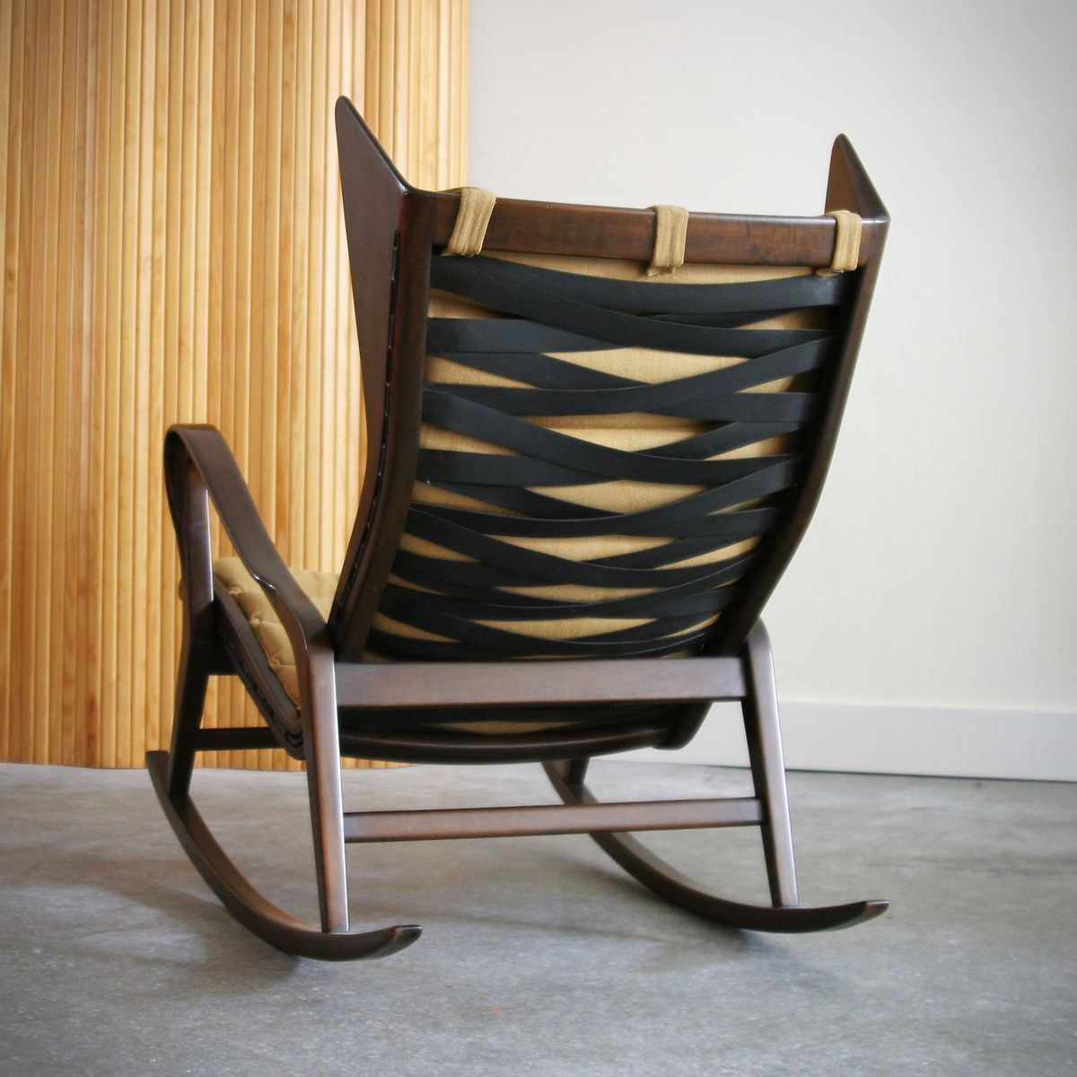 Vintage rocking chair by gio ponti for cassina for sale at for Schaukelstuhl sale