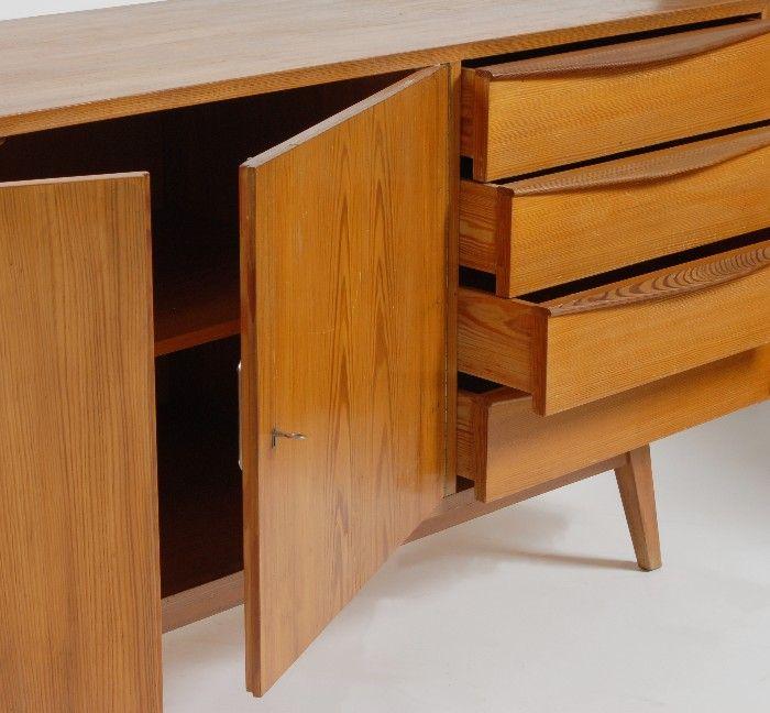vintage sideboard von arch kvor 1960er bei pamono kaufen. Black Bedroom Furniture Sets. Home Design Ideas