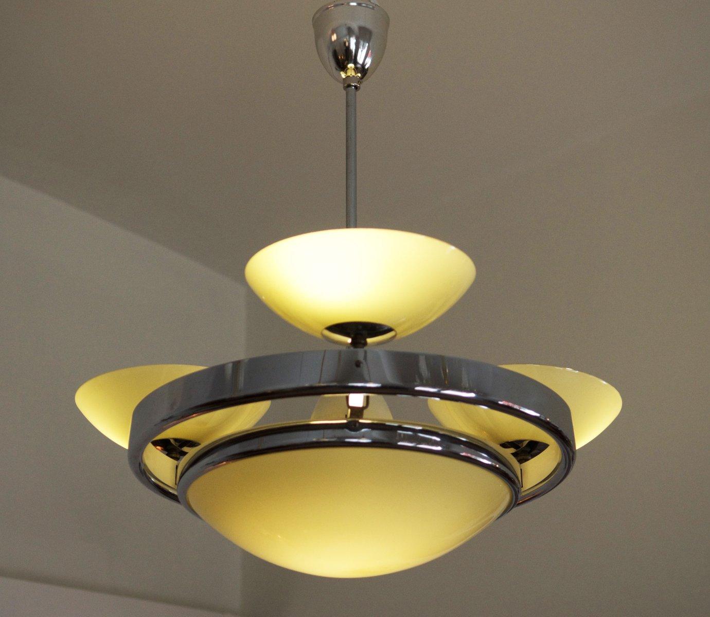 art d co streamline lampe deutschland bei pamono kaufen. Black Bedroom Furniture Sets. Home Design Ideas