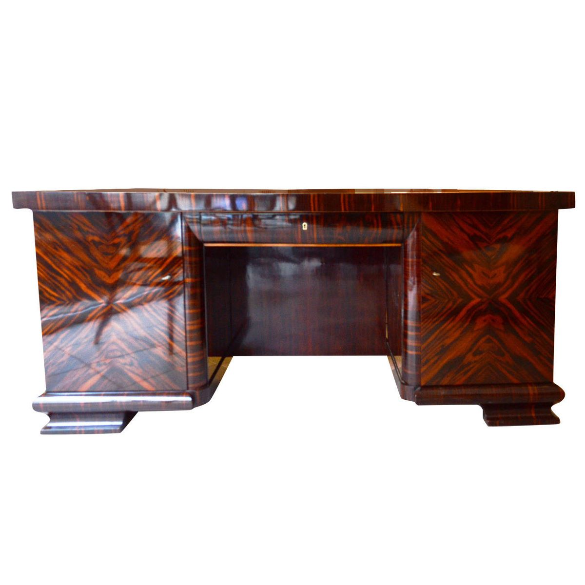 Art deco writing desk 1930s for sale at pamono for Art deco writing