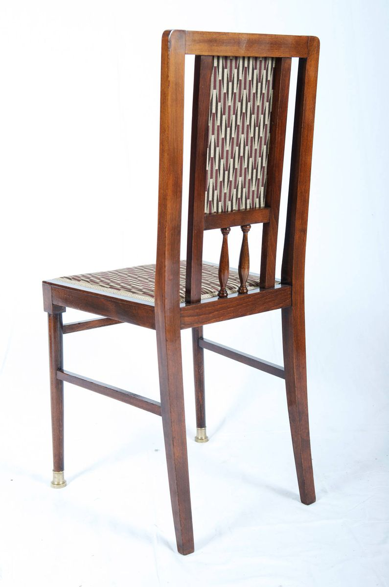 vintage art nouveau dining chairs set of 6 for sale at pamono