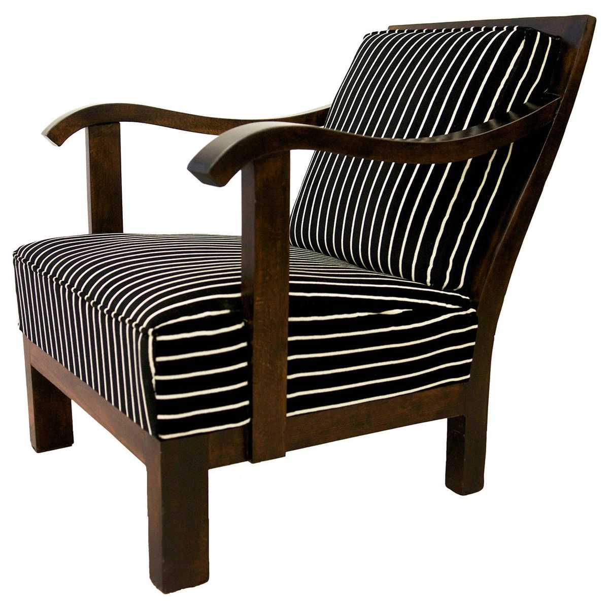 Austrian art deco era lounge chair for sale at pamono for Art deco style lounge