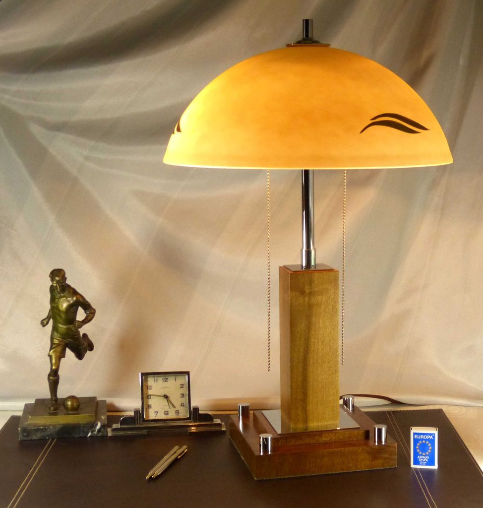 Lampe de bureau art d co france for sale at pamono for Deco de table original
