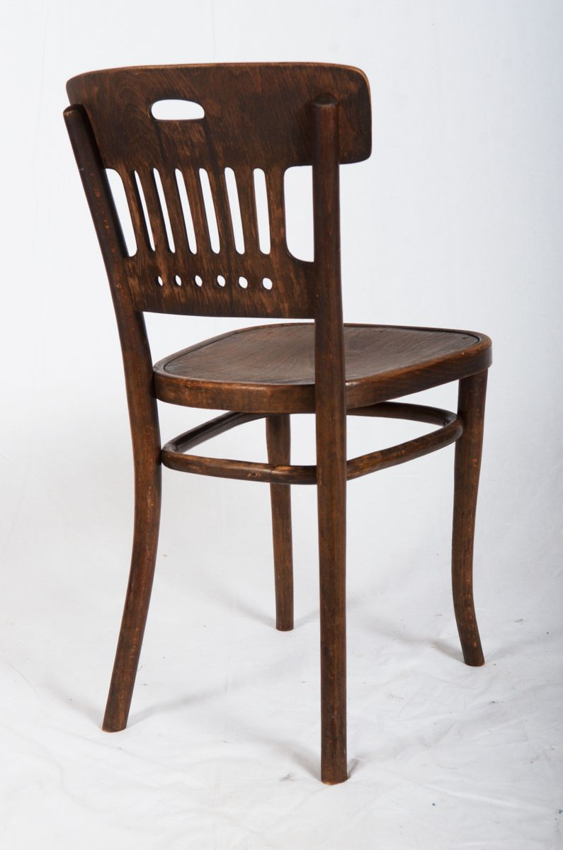 antique dining chair from thonet 1905 for sale at pamono. Black Bedroom Furniture Sets. Home Design Ideas