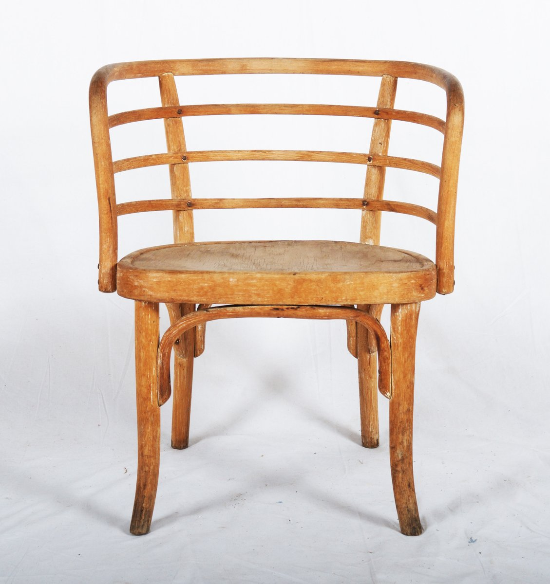 Beech Wood Armchair By Josef Frank For Thonet, 1930s For Sale At Pamono