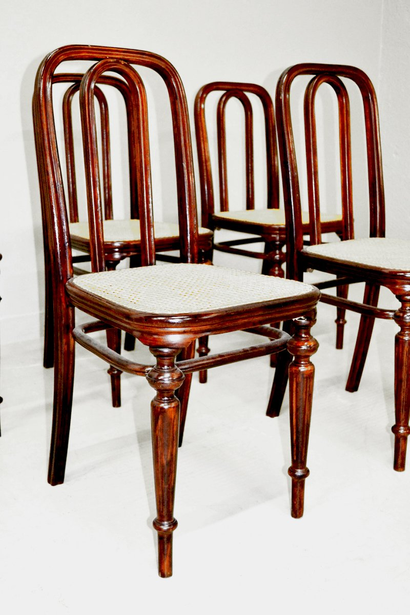 Model 41 Dining Chair From Thonet, 1860s
