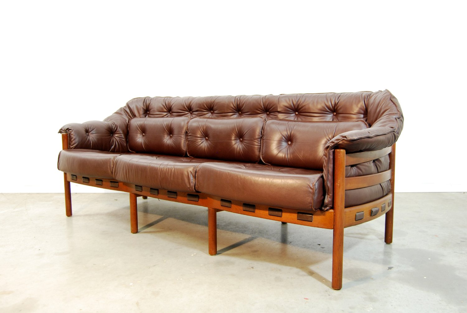 Mid century swedish sofa by arne norell for coja 1960s for Swedish sofa