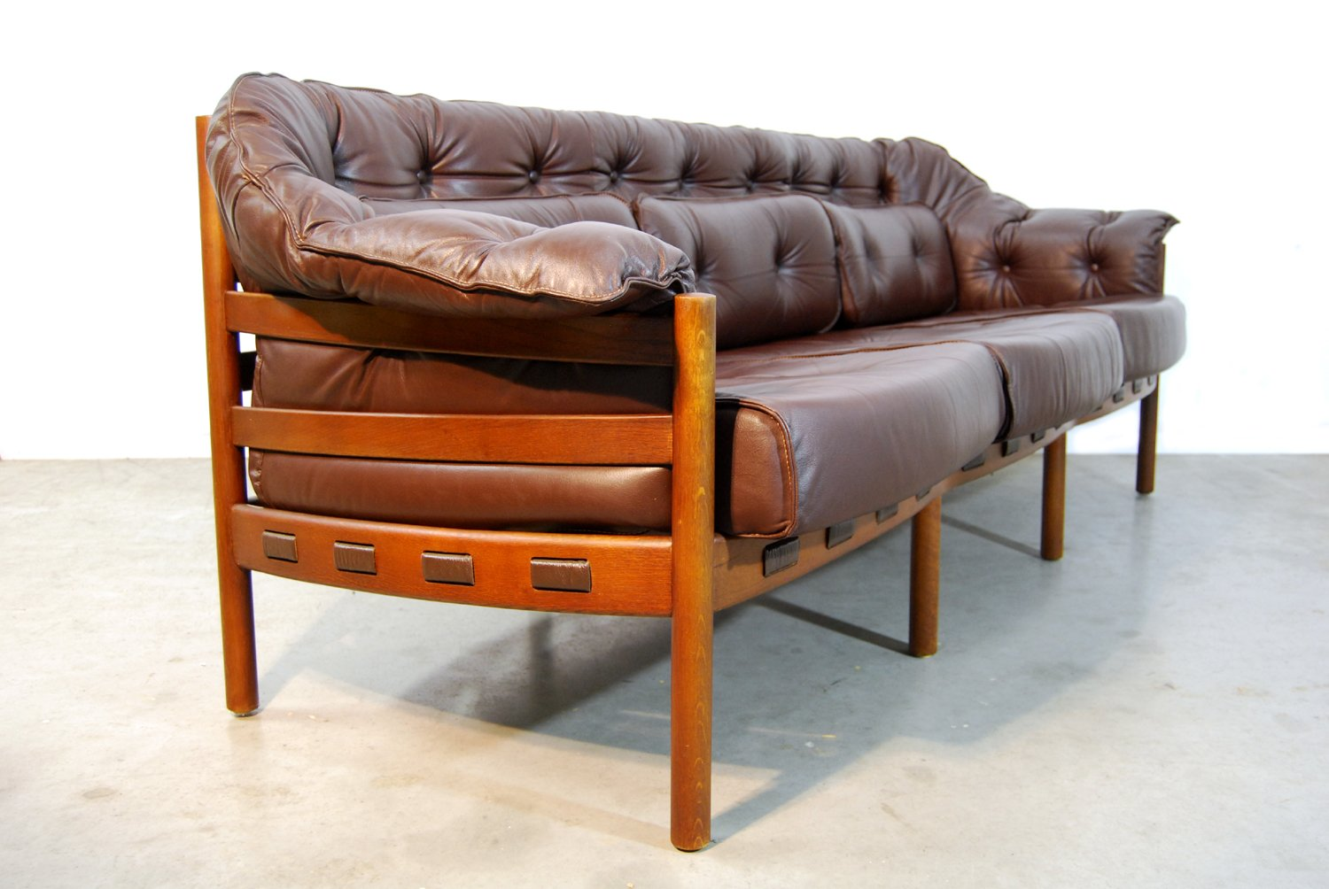 Mid Century Swedish Sofa By Arne Norell For Coja 1960s For Sale At Pamono