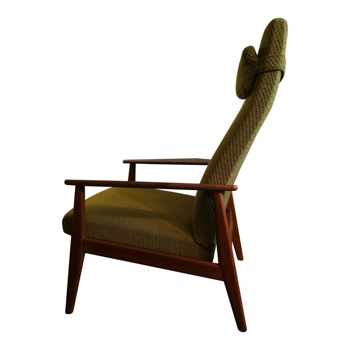 Mid Century Teak Armchair, 1960s For Sale At Pamono