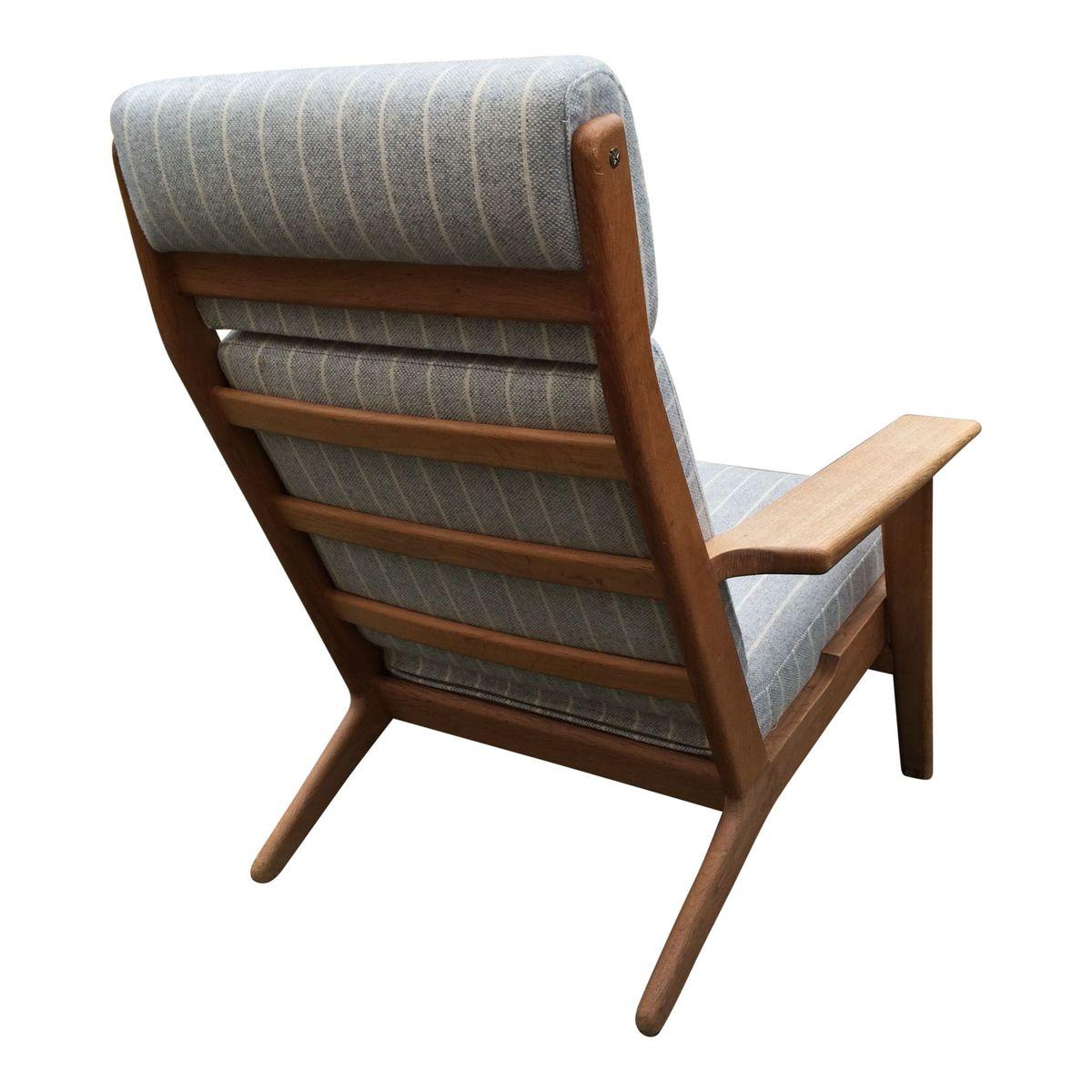 ge290a stuhl von hans j wegner f r getama bei pamono kaufen. Black Bedroom Furniture Sets. Home Design Ideas