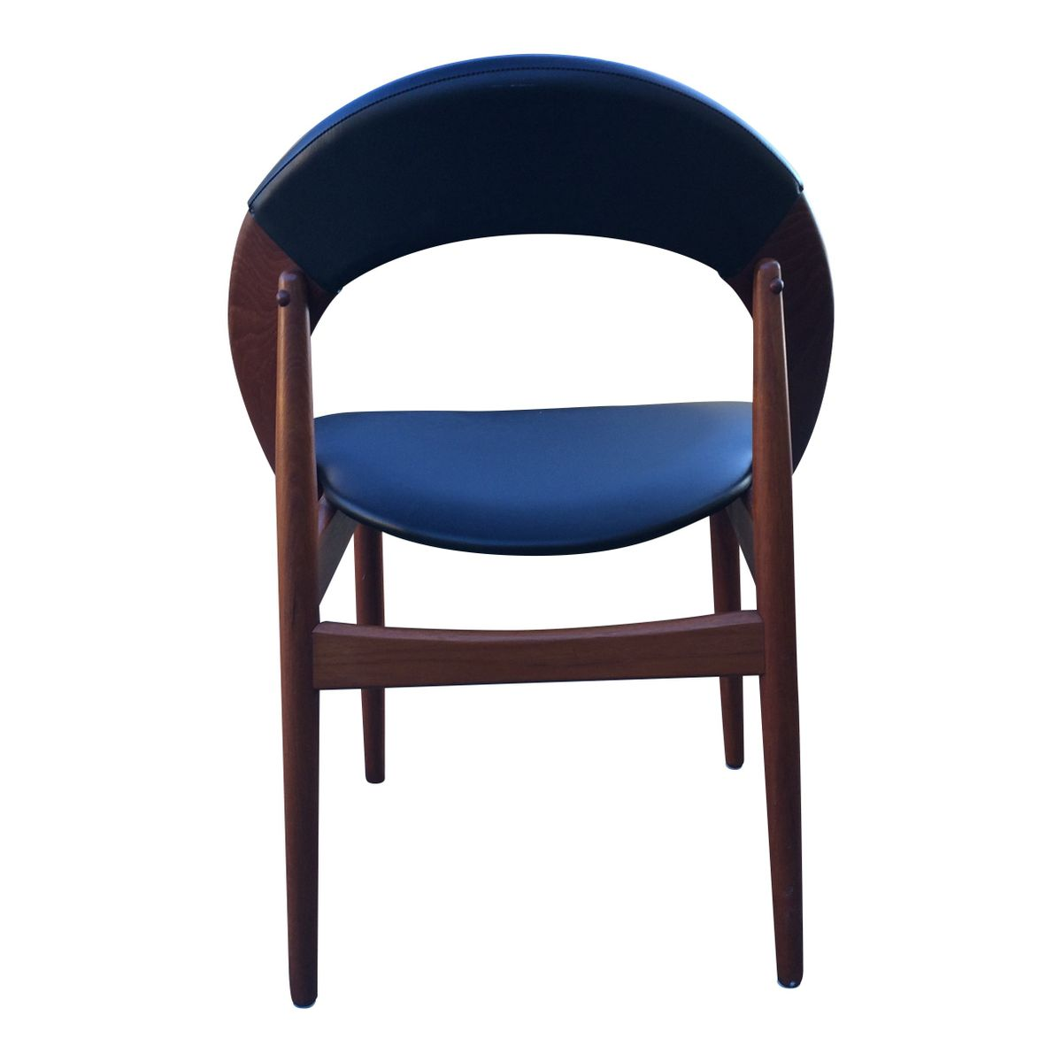 Danish Teak Chair by A Hovman Olsen 1960s for sale at Pamono
