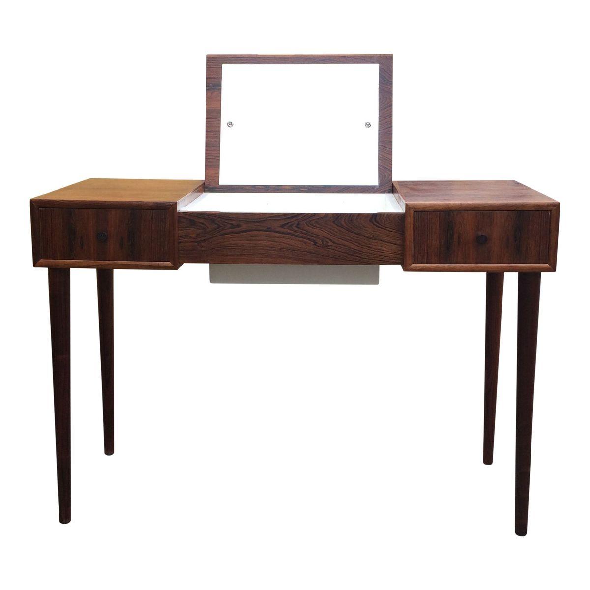 Vintage danish teak makeup table for sale at pamono for Vintage schminktisch