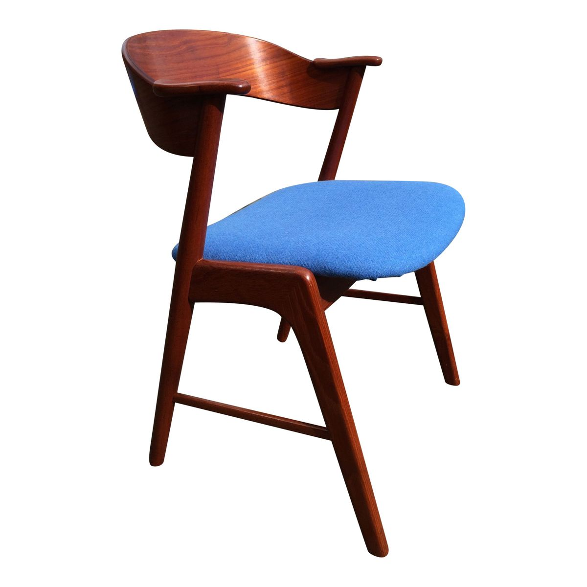 Teak chairs by kai kristiansen for korup stolefabrik set of 4 for sale at pamono - Kai kristiansen chairs ...