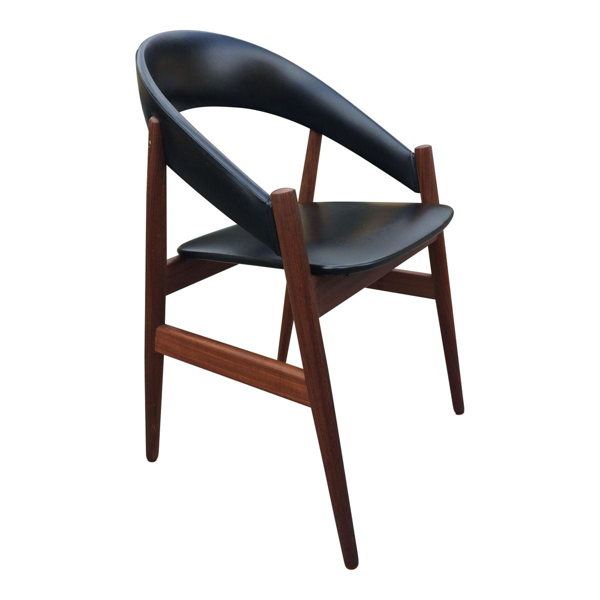 Mid Century Danish Dining Chairs Set Of 4 For Sale At Pamono