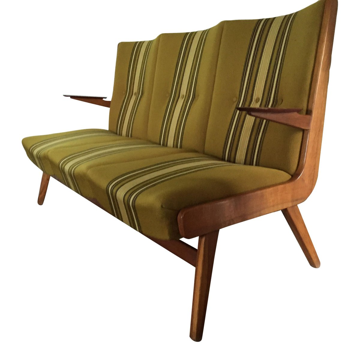 skandinavisches teak sofa 1960er bei pamono kaufen. Black Bedroom Furniture Sets. Home Design Ideas