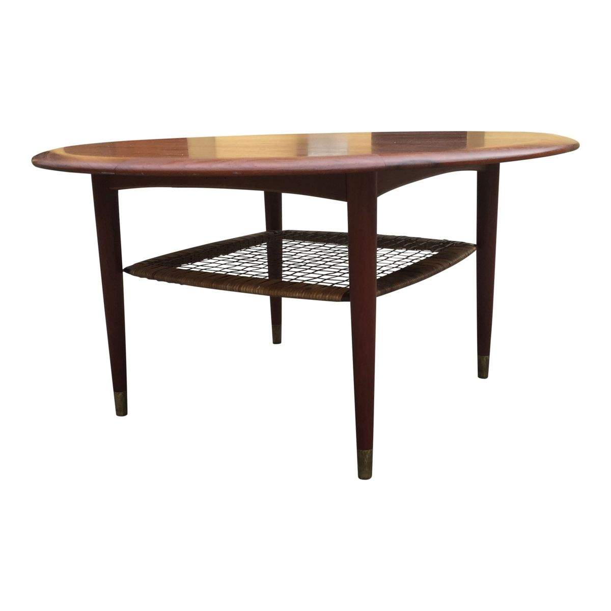 Round Coffee Table Uk Sale: Round Teak Coffee Table From CFC Silkeborg, 1960s For Sale