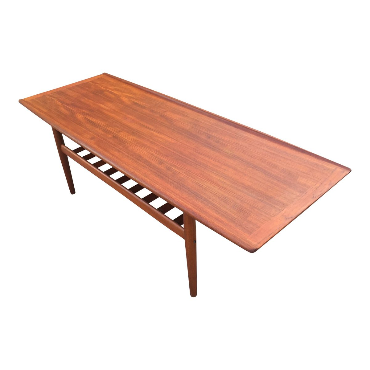 Long Coffee Table By Grete Jalk For Glostrup M Belfabrik For Sale At Pamono