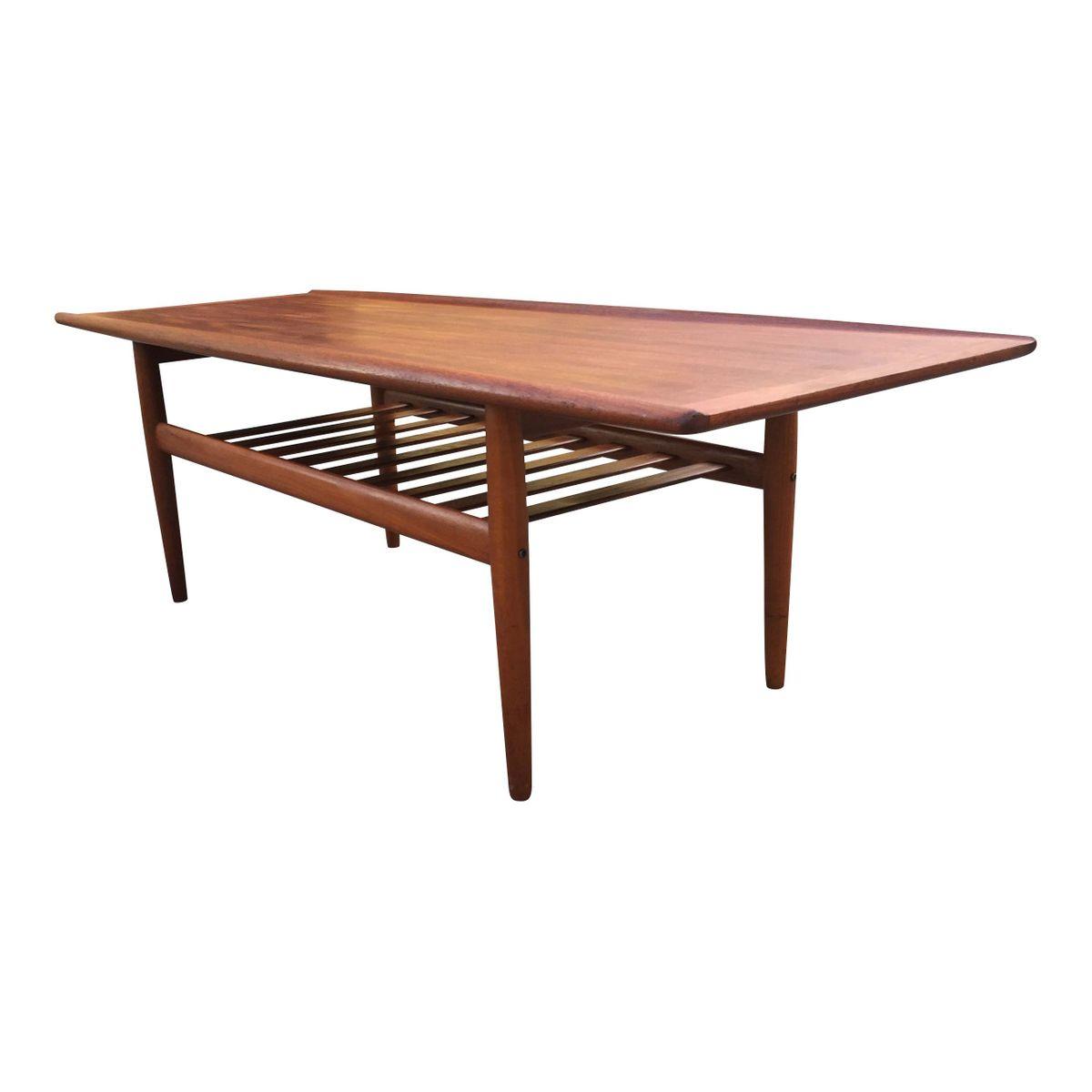 Long Coffee Table By Grete Jalk For Glostrup M Belfabrik
