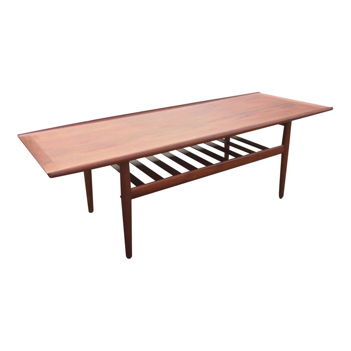 Long coffee table by grete jalk for glostrup m belfabrik for Long coffee table