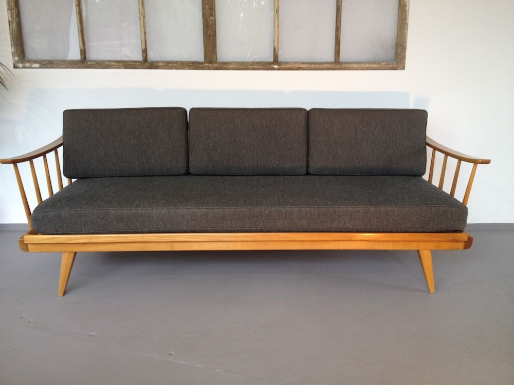 grey knoll antimott sofa from walter knoll for sale at pamono. Black Bedroom Furniture Sets. Home Design Ideas