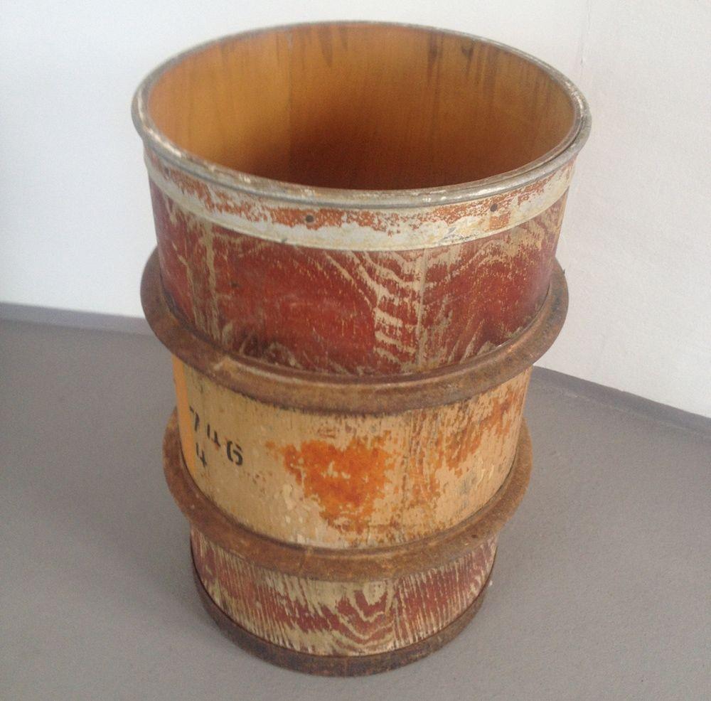 Tonne Aus Holz : vintage tonne aus holz bei pamono kaufen ~ Watch28wear.com Haus und Dekorationen