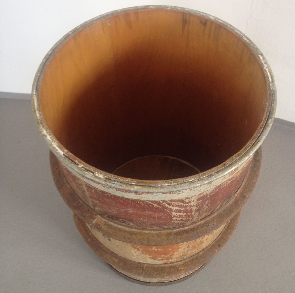 Vintage Wooden Barrel 48