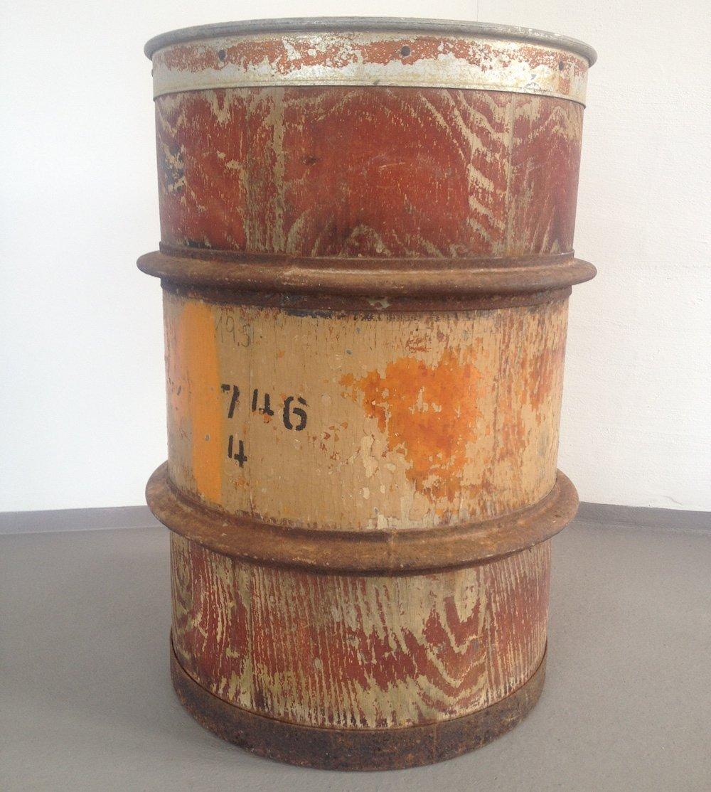 Vintage Wooden Barrel 7