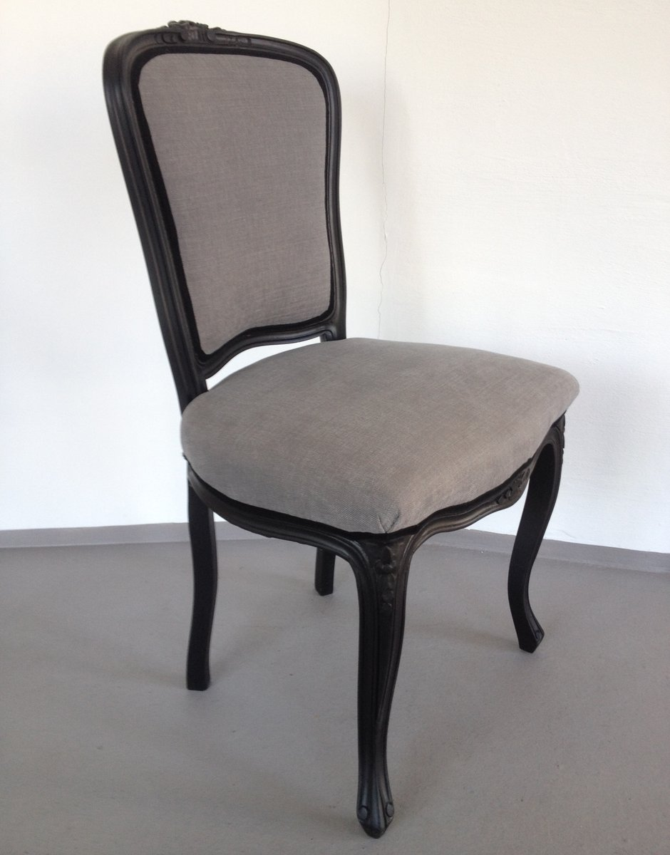 Neo baroque furniture by paolo lucchetta modern furniture design - Black Grey Neo Baroque Chair