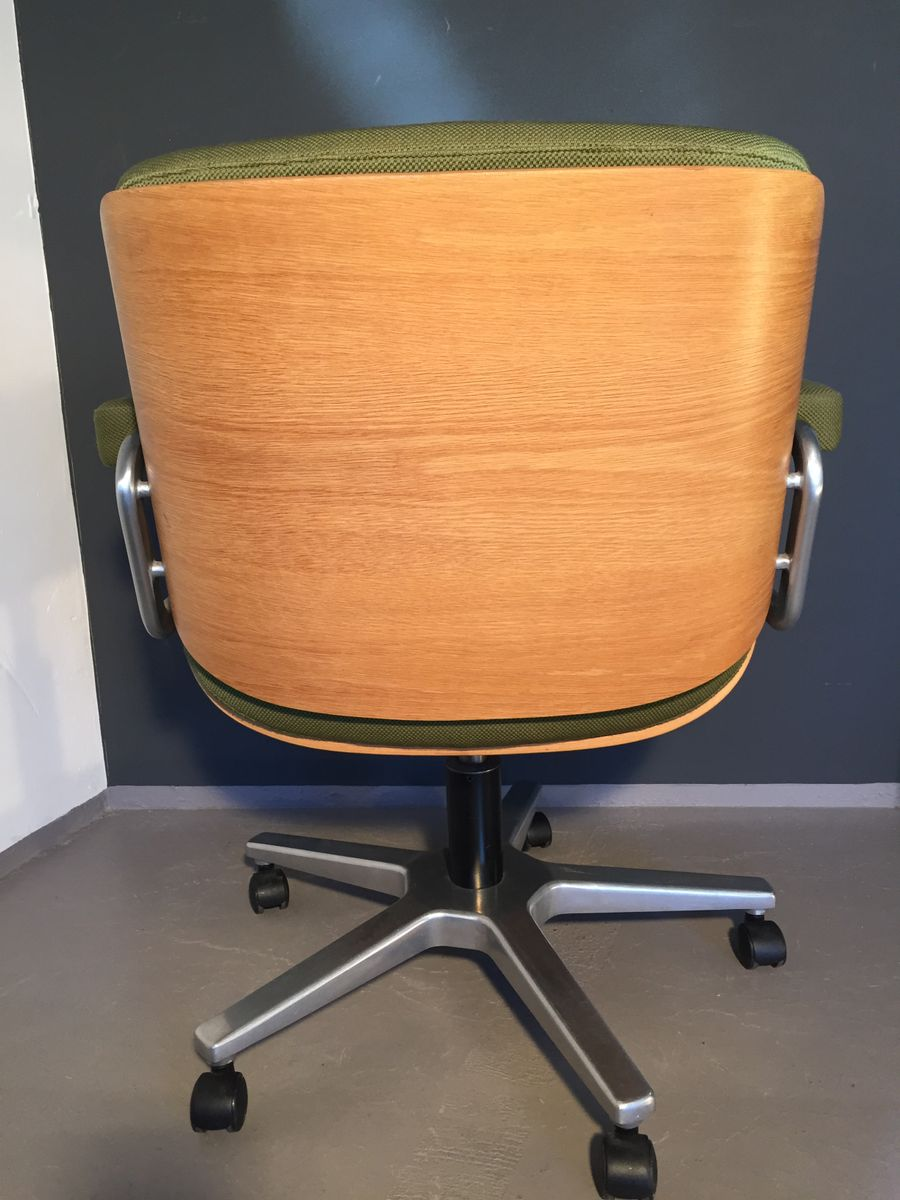 Vintage Desk Chair By Martin Stoll For Giroflex 1970s For