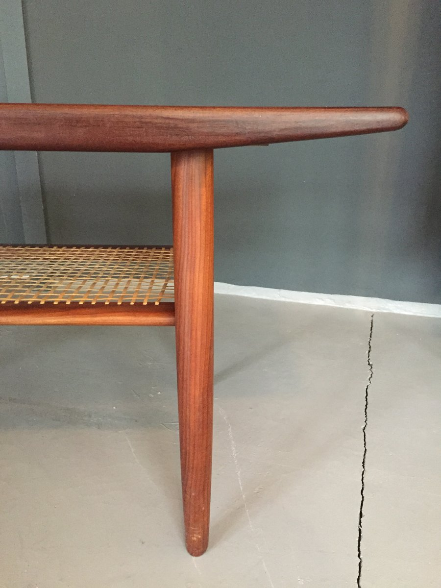 Danish Teak Coffee Table From C F Christensen A S 1960 For Sale At Pamono