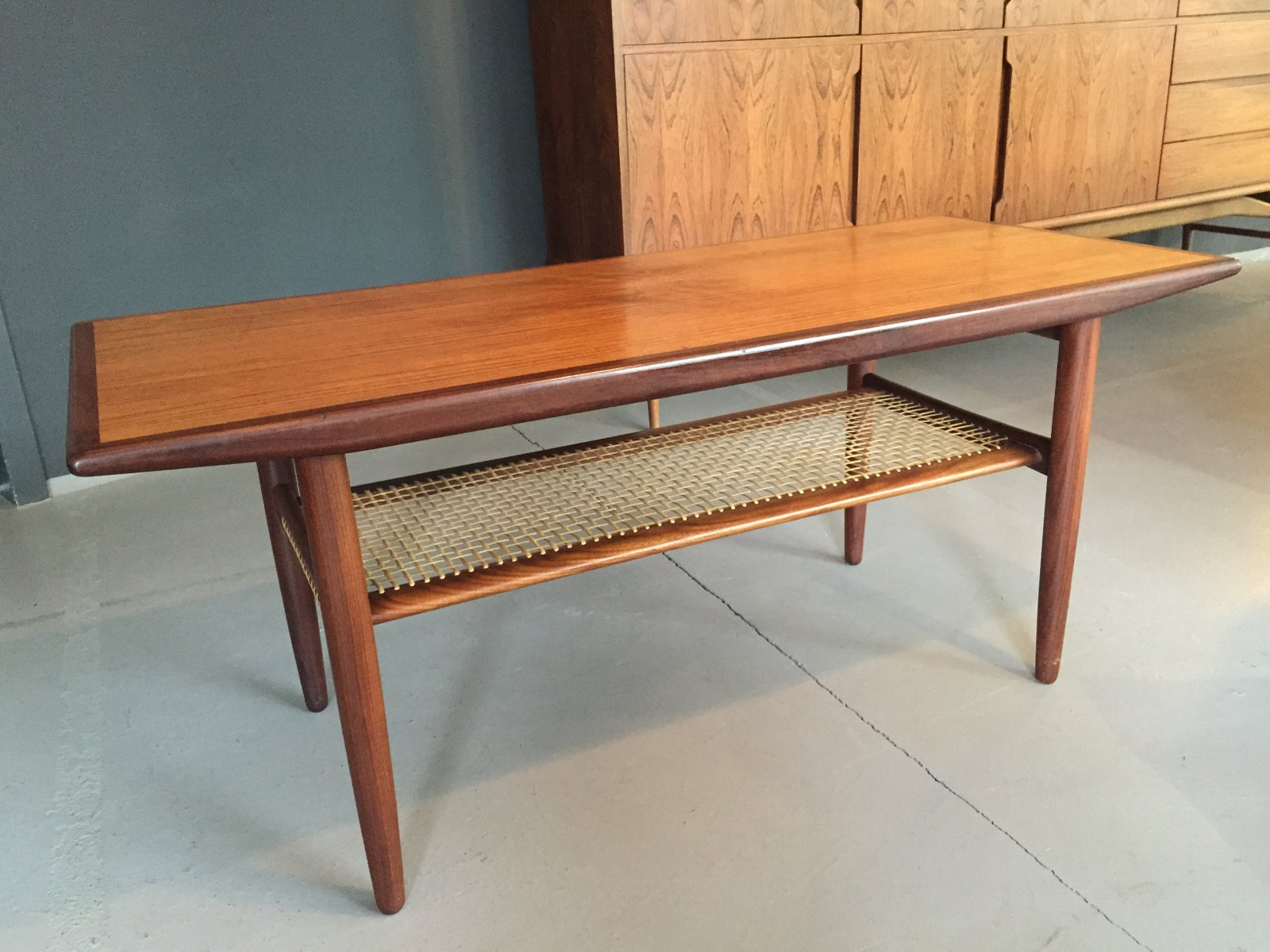 danish teak coffee table from c.f. christensen a/s, 1960 for sale