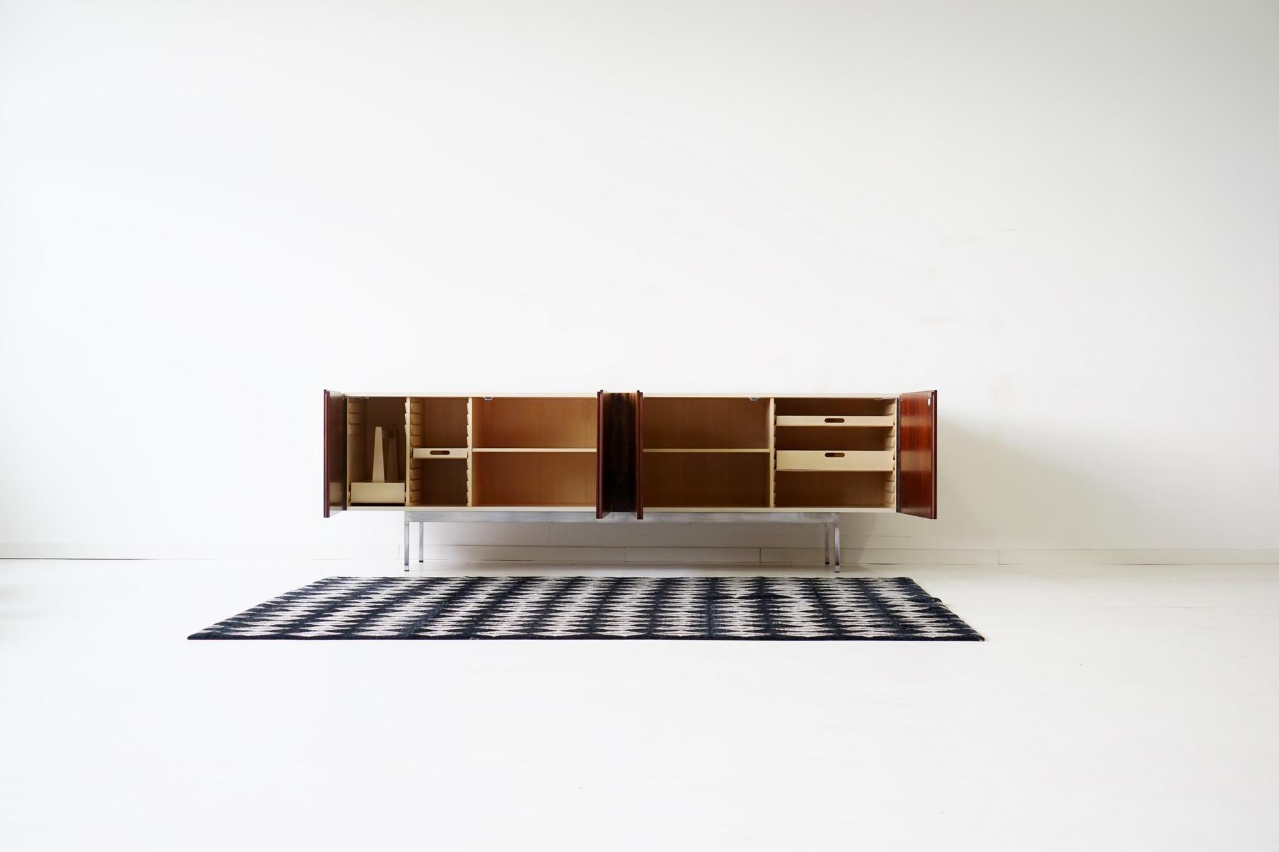 Designklassiker sideboard  Mid-Century Palisander Sideboard von Dieter Waeckerlin für Behr ...