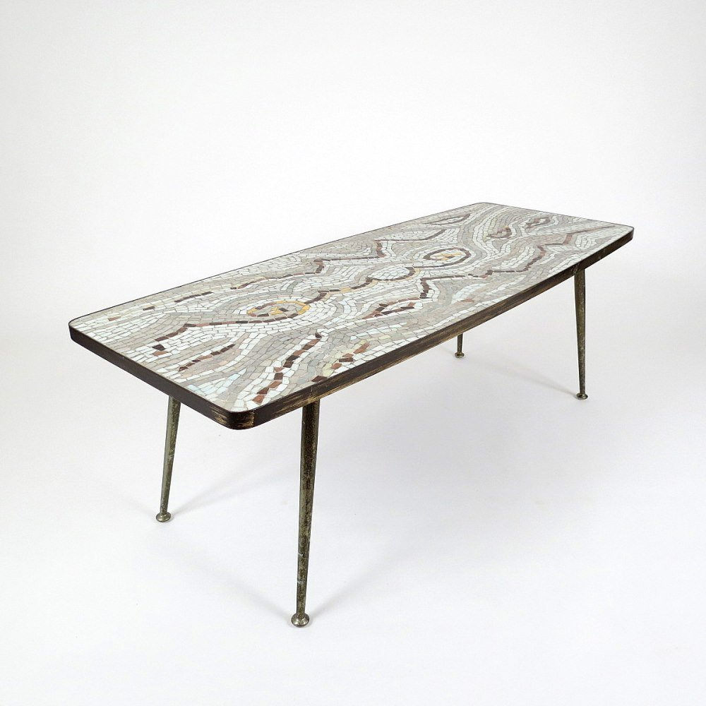 Mosaic Tiled Coffee Table 1950s For Sale At Pamono