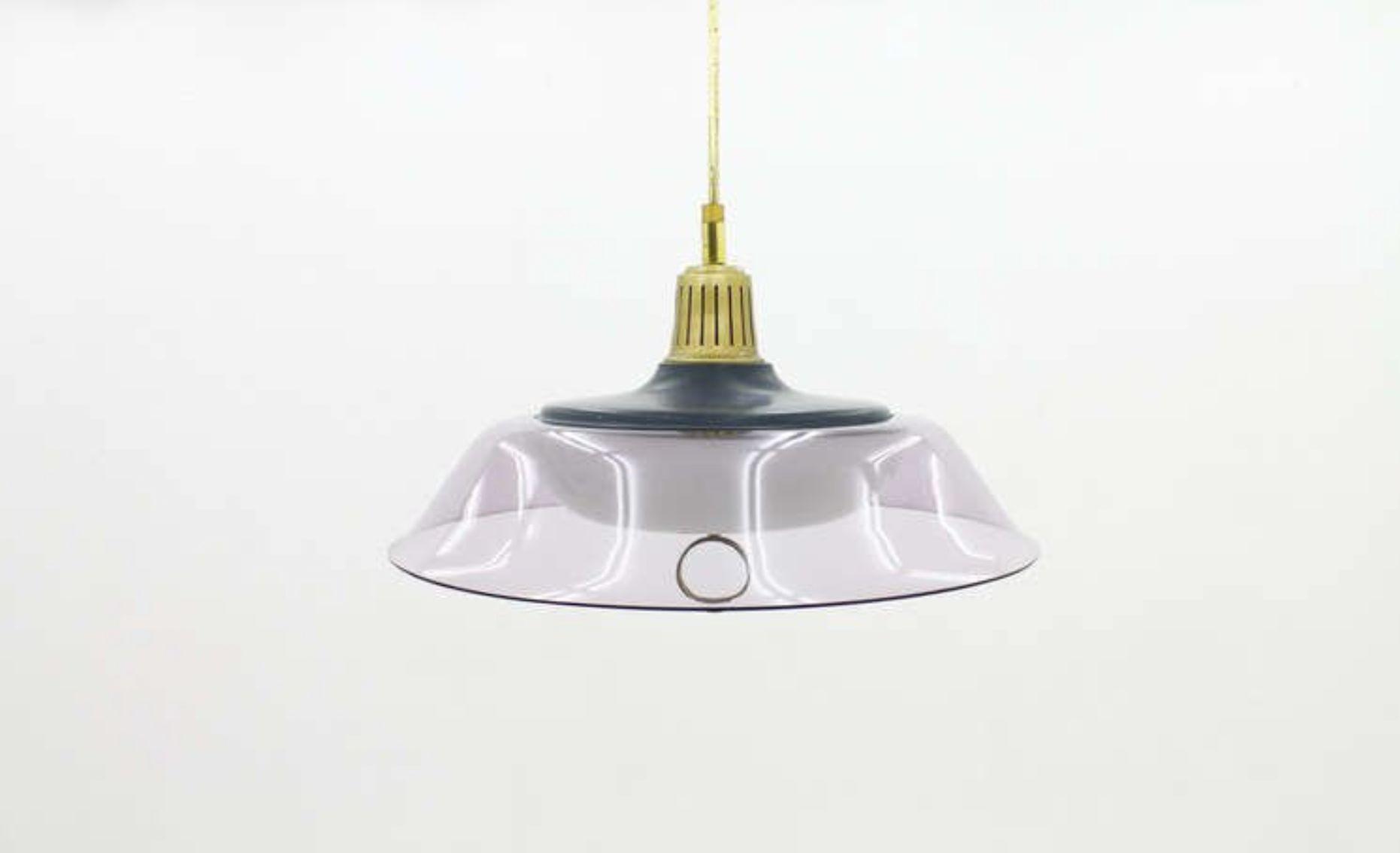 mid century italian pendant light from stilux 1960s for. Black Bedroom Furniture Sets. Home Design Ideas