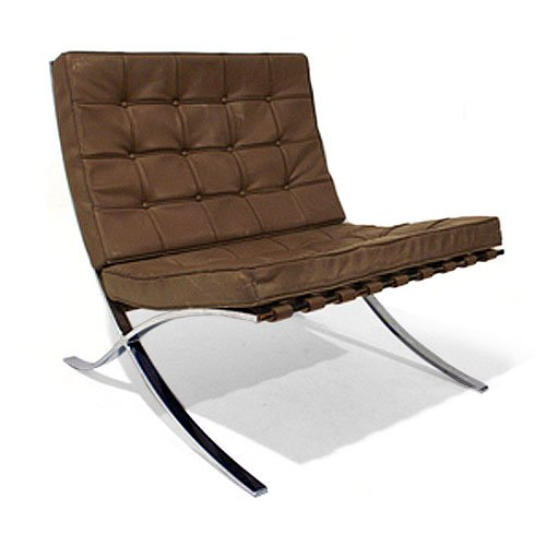 barcelona easy chair by ludwig mies van der rohe 1930s. Black Bedroom Furniture Sets. Home Design Ideas
