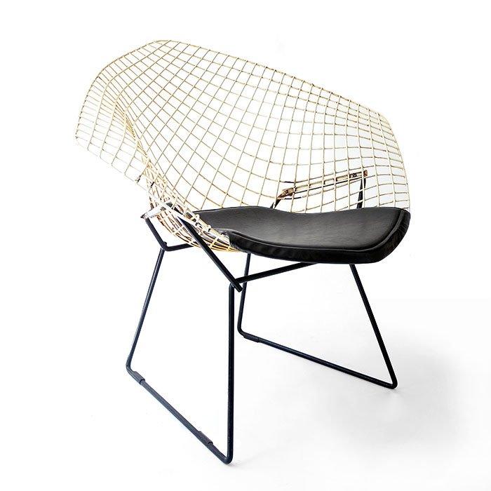 diamond chair 421 by harry bertoia 1950s