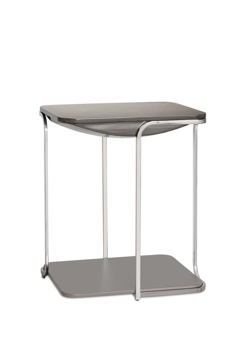 table d 39 appoint bohca en acier inoxydable par begum. Black Bedroom Furniture Sets. Home Design Ideas